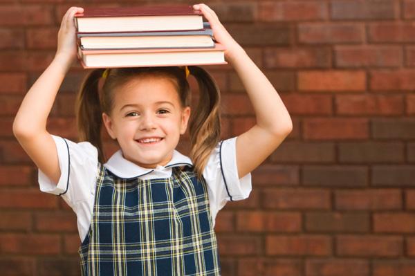 little-girl-in-school-uniform